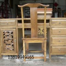 供应仿古家具写字台书桌/书柜/古典榆木家具/东阳木雕家具/厂家直销批发