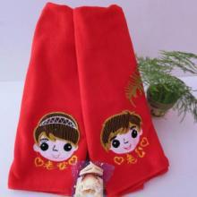 供应结缘绣花超细纤维毛巾、价格优惠、物美价廉图片
