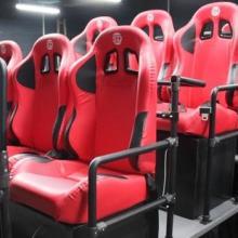 秒杀高弹海绵5D影院座椅 游戏赛车专用座椅 高仿皮 舒适4D座椅