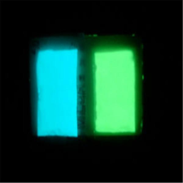 供应五星行工艺饰品专用发光粉无放射性发光粉发光粉注塑发黑现象