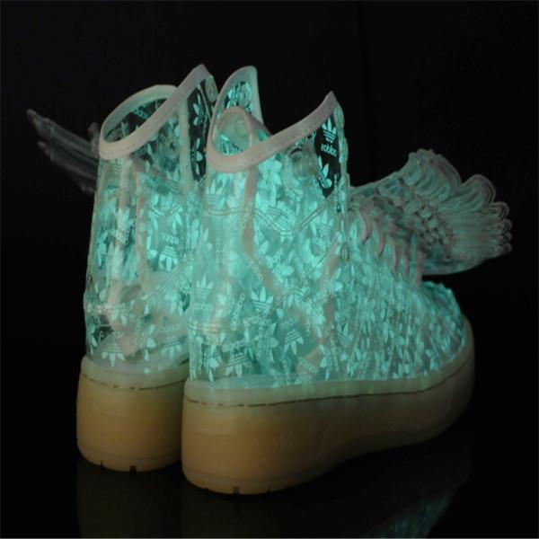 供应五星行鞋底发光的鞋会发光的童鞋发光运动鞋