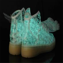 供應五星行鞋底發光的鞋會發光的童鞋發光運動鞋批發