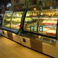 供应安徽阜阳欧式前开门式蛋糕柜价格哪里有卖蛋糕柜