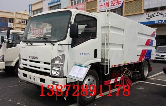 供应东风天锦DFL1160BX道路洗扫车