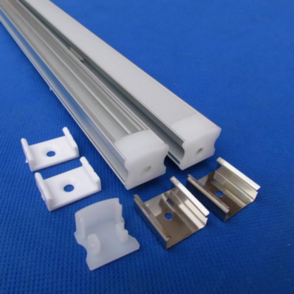 供应用于展柜灯具用专业销售带PC罩铝槽,外贸型带PC罩铝槽,带PC罩铝槽U型