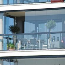 供应无框阳台窗,无框阳台窗定制,封阳台用无框阳台窗批发
