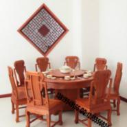 红木家具餐桌图片