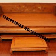 东阳红木家具罗汉床图片