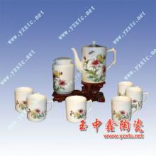 供应陶瓷咖啡杯 陶瓷咖啡罐 8头咖啡具 欧式咖啡具图片