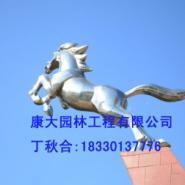 不锈钢马雕塑公司图片