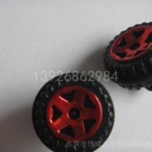 供应广东跑车车轮与车轴玩具代加工