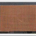 2mm铸造纤维过滤网出口图片