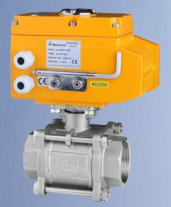 供应slx系列电动阀电动调节阀图片图片