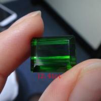 供应天然彩宝绿碧玺宝石镶嵌戒指绿碧玺 绿碧玺多少钱一克拉