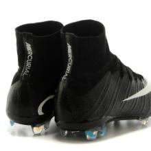 供应新到货耐克C罗专属刺客10代飞线真碳纤底高帮FG钉足球鞋批发