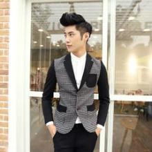 供应2014男士韩版西装,修身型小帅西装