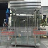 供应不锈钢保安岗亭