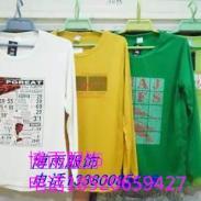 广州外贸男士T恤批发图片
