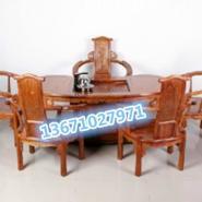 红木方形办公茶桌图片