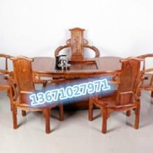 供应红木方形办公茶桌北京红木扇形茶台红木两用茶台价格批发