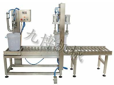 供应灌装设备工作流程