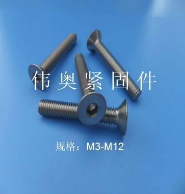 沉头机螺钉图片/沉头机螺钉样板图 (3)