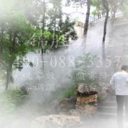 广西江西喷雾景观设备喷雾造景图片