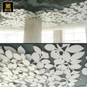 嘉兴PVC雕花板个性吊顶背景墙图片