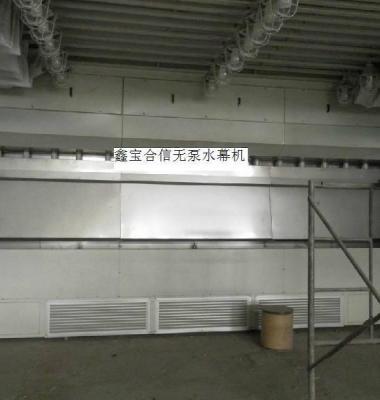 无泵水帘环保喷漆台图片/无泵水帘环保喷漆台样板图 (1)