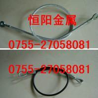 供应钢丝绳铝扣, 钢丝绳吊绳 弹簧钩 端子 各种规格压制  铝管扣头