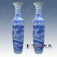 清明上河图陶瓷大花瓶批发图片