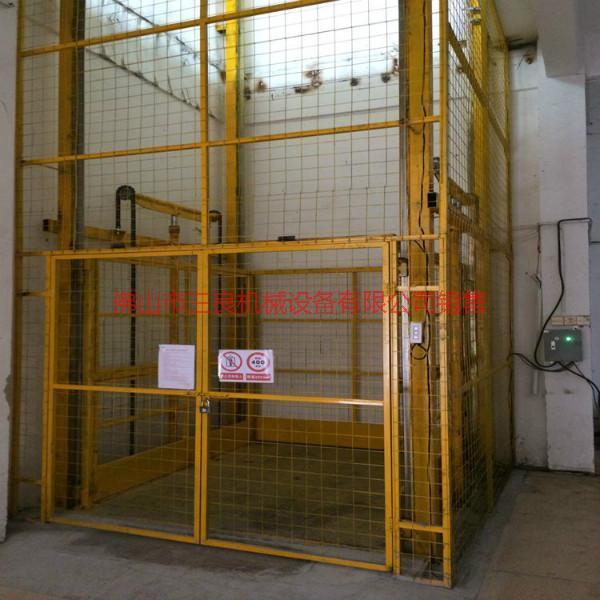 供应镇隆金沙单柱导轨式升降机厂家