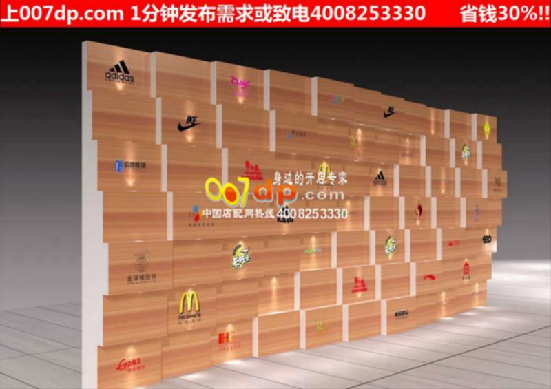 供应中国店配网第十七期鞋店展示柜创意鞋店展示柜个性鞋店装修图高清图片
