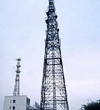 供应通信铁塔、地面钢管塔、通讯塔图片、40米避雷塔重量、光伏电站热镀锌钢架构