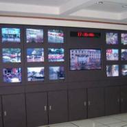 广电机房家具系列电视墙图片
