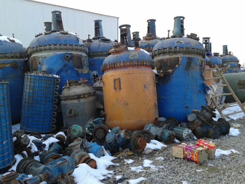 10吨二手搪瓷反应釜价格,10吨二手搪瓷反应釜供应商,
