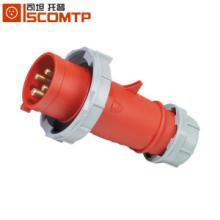 供应4P16AIP67工业插头防水插座