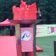 奥运圣火盆图片
