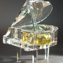 供应西安水晶钢琴-彩印音乐盒制作