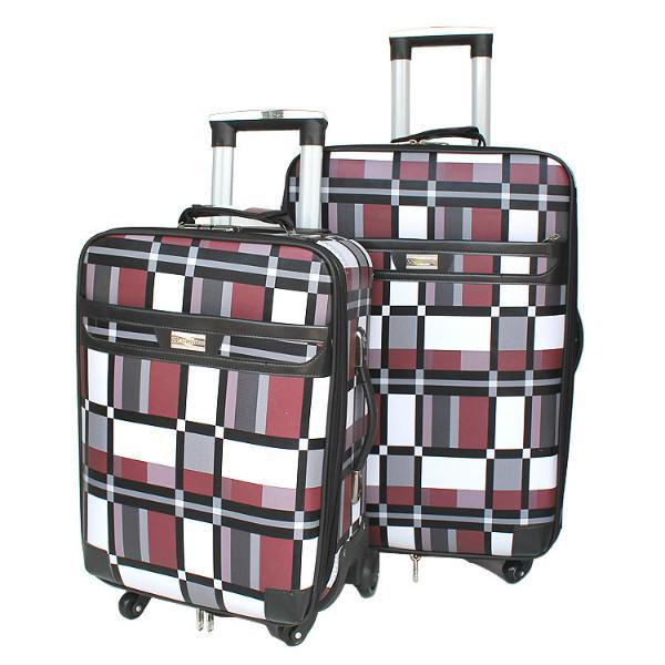 供应优质箱包格子拉杆箱大容量旅行箱