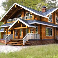 供应用于木屋设计|木屋建造|木结构制品的木屋图片图片