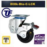 TF808款减震脚轮带弹簧脚轮/中型减震脚轮/导电防静电减震避震脚轮