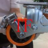 TF507款重型减震脚轮/减震轮万向/减震轮刹车/减震轮厂家