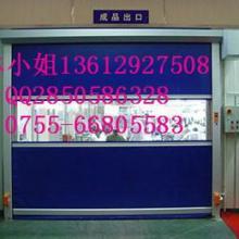 供应珠海垂直PVC快速卷帘门厂家定做图片