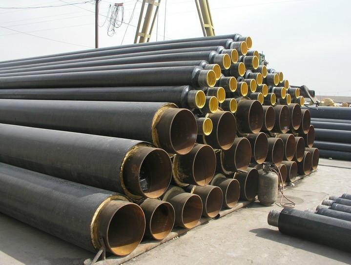 供应聚氨酯发泡大口径螺旋保温钢管