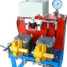 供应安全节能气动试压泵 钻井采气测压设备 气动试压泵