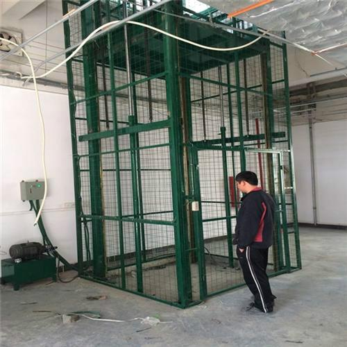 松岗导轨链条式升降吊笼_导轨链条式升降吊笼电梯_导轨链条式升降吊