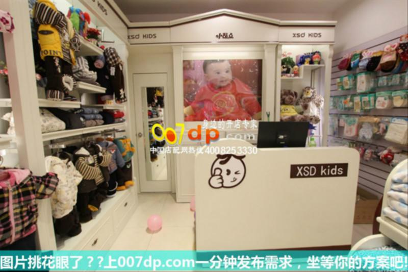 童装店装修效果图及韩国童鞋店展柜图片大全
