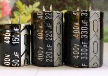 供应牛角电容330UF400V 30x40/短脚铝电解电容