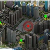 供应警用地图系统安防仿真系统_安防仿真系统_实时监控仿真系统